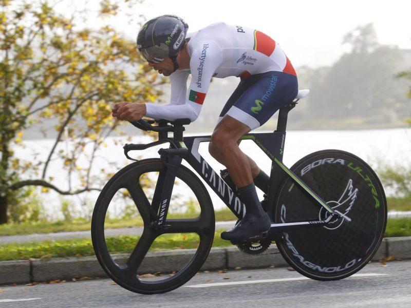 Nélson Oliveira quarto classificado no Mundial de Contrarrelógio Individual