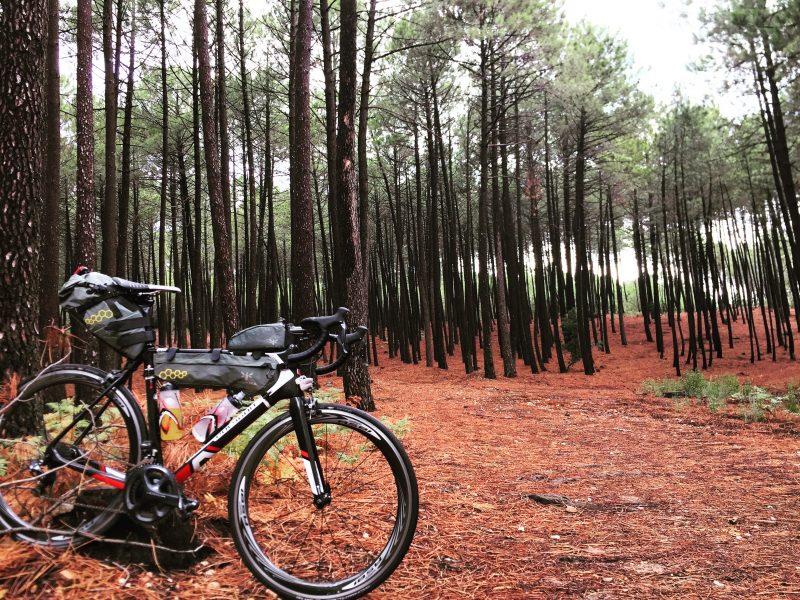 Um Português pelo Mundo, a viajar de Bicicleta claro
