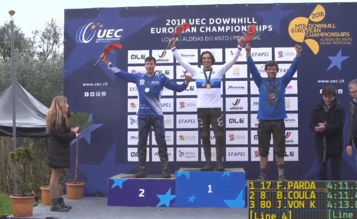 Campeonato da Europa de Downhill – Francisco Pardal faz história, sagra-se campeão europeu na Lousã