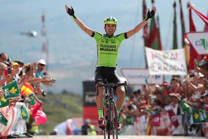 """Vuelta, etapa 13 – Vencedor surpresa no """"Alto de la Camperona"""""""