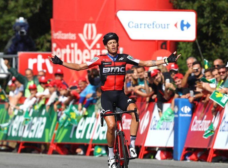 Vuelta, etapa 11 – Alessandro de Marchi vence, Yates continua líder.