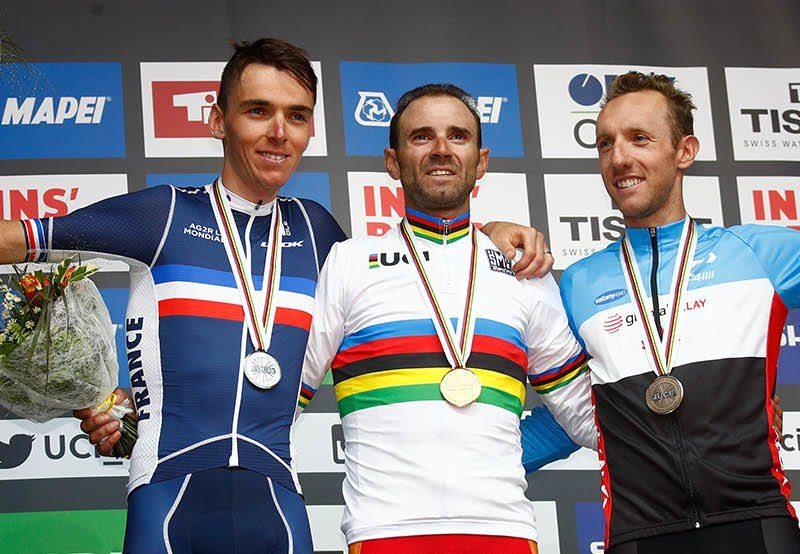 Valverde Campeão do Mundo, Rui Costa num esplêndido TOP10.