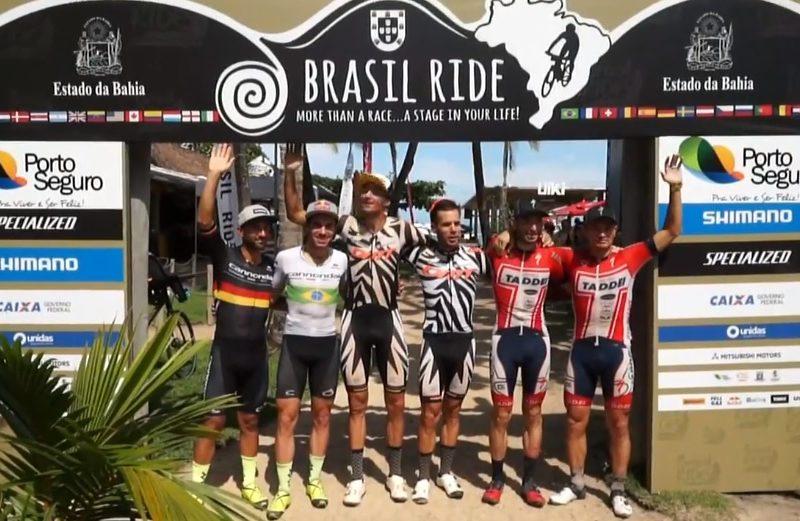 Tiago Ferreira e Hans Becking vencem etapa 5 do Brasil Ride