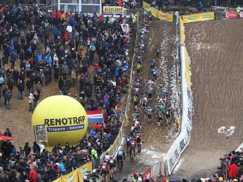 Ciclocrosse – 5.ª etapa do Telenet Superprestige – Areia e neve em Zonhoven.