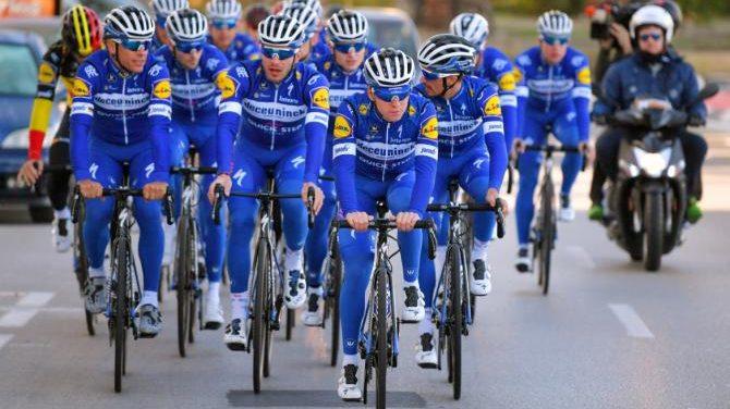 Equipa Deceuninck Quick-Step abre portas aos fãs