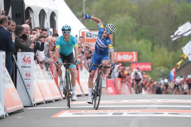 Flèche Wallonne – Julian Alaphilippe reina no muro de Huy