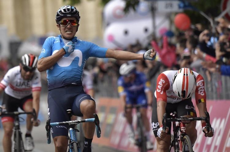 """Giro de Itália, etapa 4 – como uma etapa """"normal"""" dita alterações na C.Geral"""