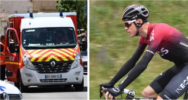 Estrada – Froome diz adeus ao Tour após queda a 60km/h