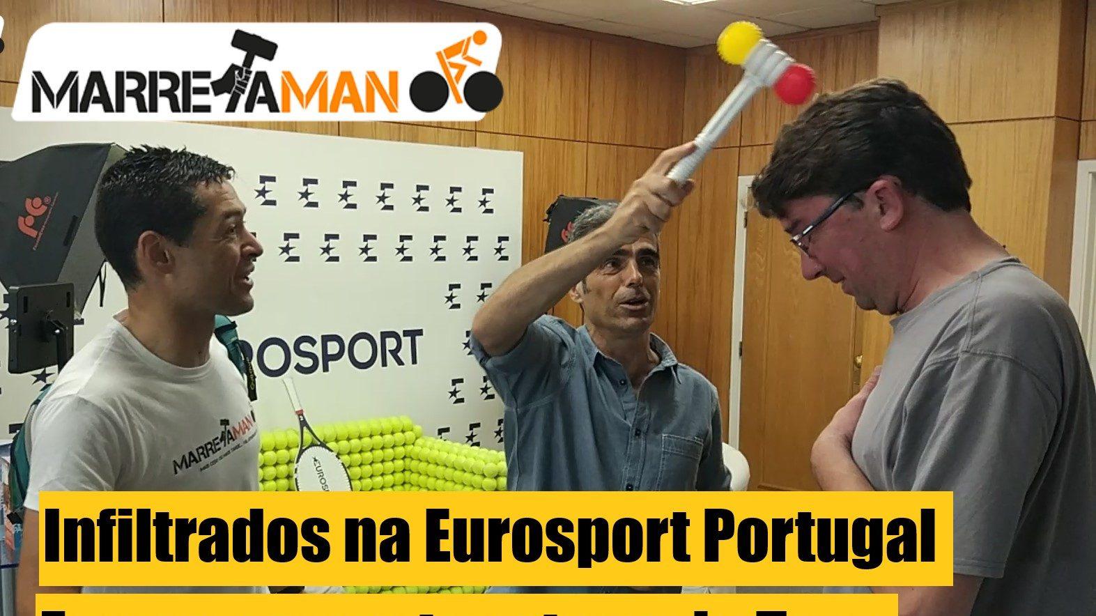 Vídeo – Fomos comentar uma etapa do Tour na Eurosport