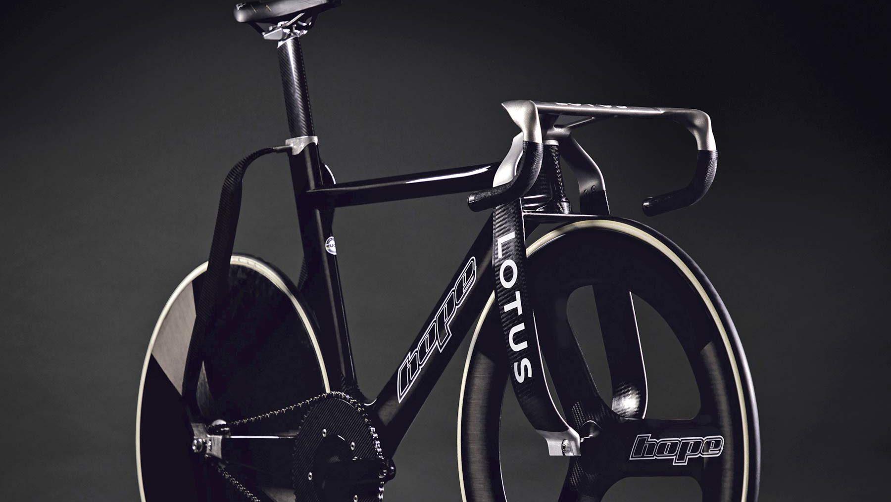 Hope e Lotus revelam bicicleta de pista impressionante, a Hope HB.T