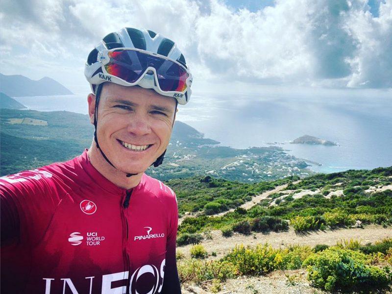 Chris Froome trocará Ineos pela Israel Start-Up Nation