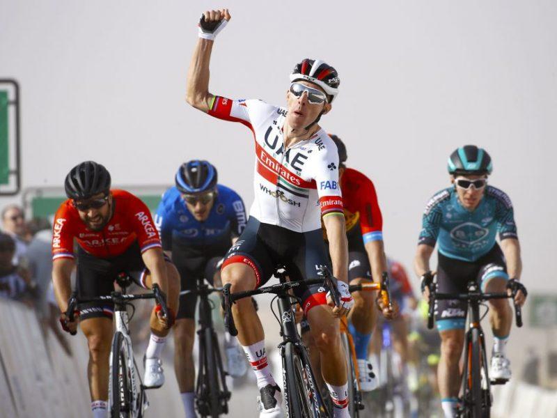 Rui Costa venceu a primeira etapa da Volta à Arábia Saudita