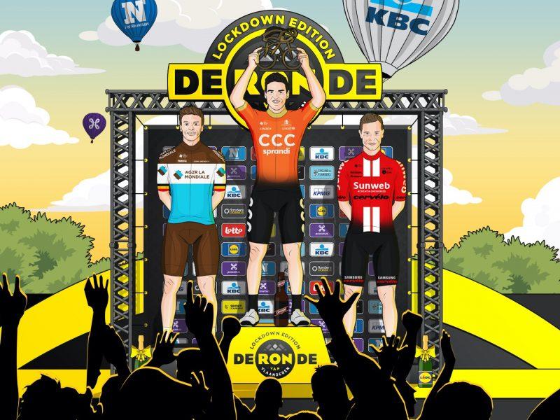 Greg Van Avermaet vence Tour de Flanders virtual