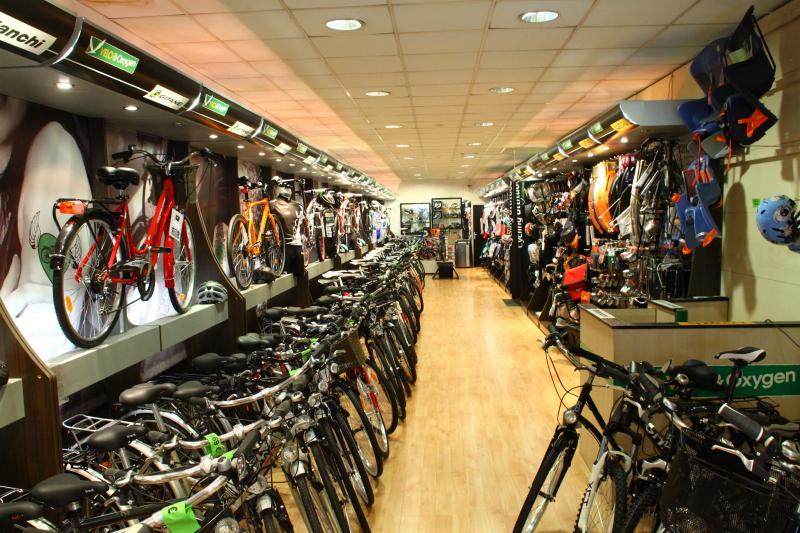 Lojas de bicicletas mantêm actividade