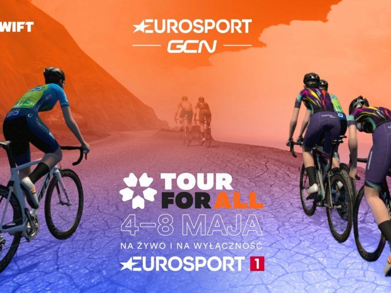 Tour for All – Ciclismo (virtual) em directo no  Eurosport