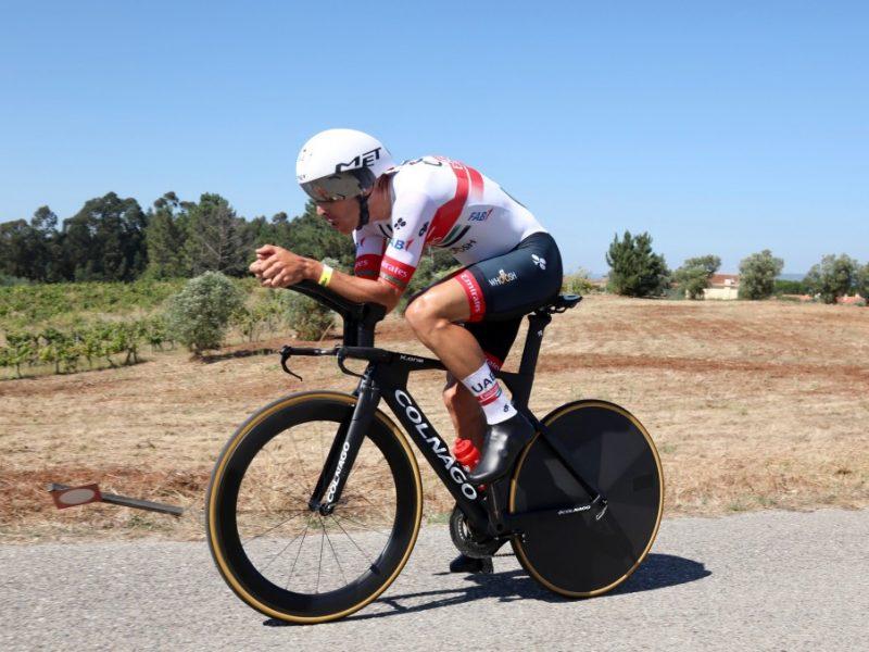 Rui Costa venceu prova de reabertura do ciclismo em Portugal