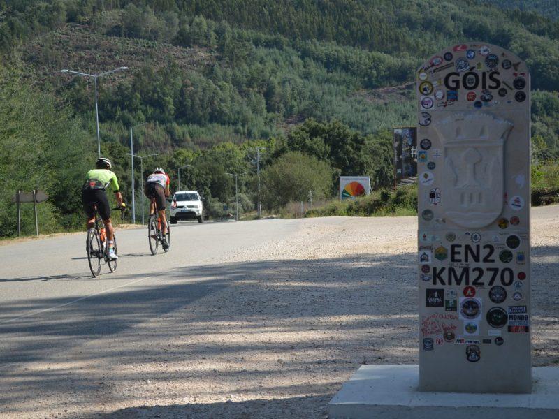 A Estrada Nacional 2 foi pedalada em 23H. 32m.