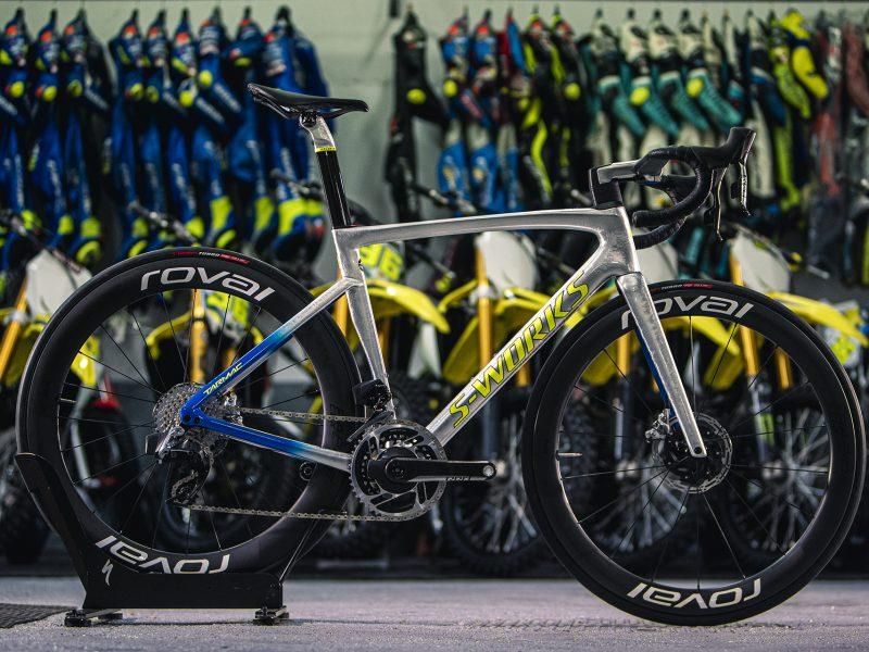 A Specialized Tarmac de Joan Mir – Campeão do Mundo de Moto GP