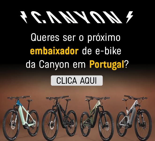 Canyon procura embaixador para e-Bikes em Portugal