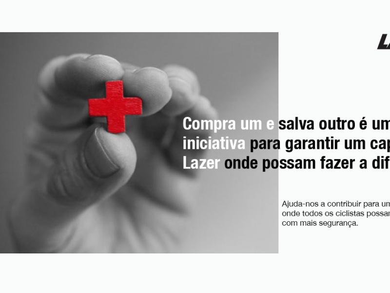 Capacetes Lazer ajudam Cruz Vermelha – Compra um, salva outro