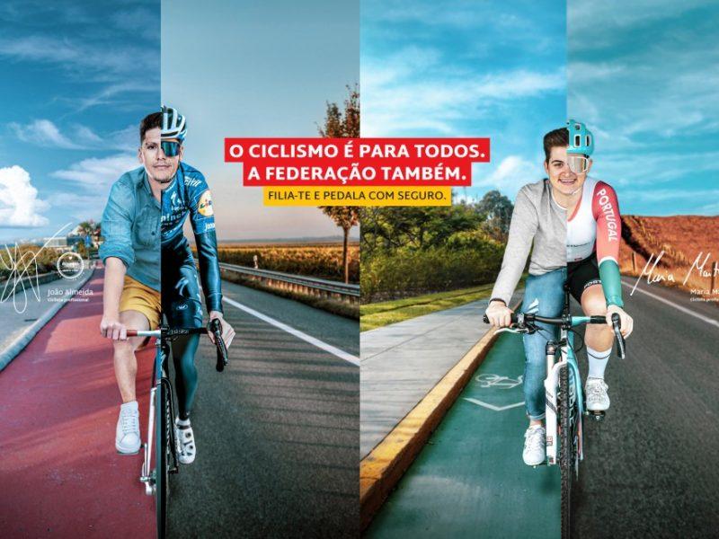 """João Almeida e Maria Martins promovem campanha """"O ciclismo é para todos"""""""