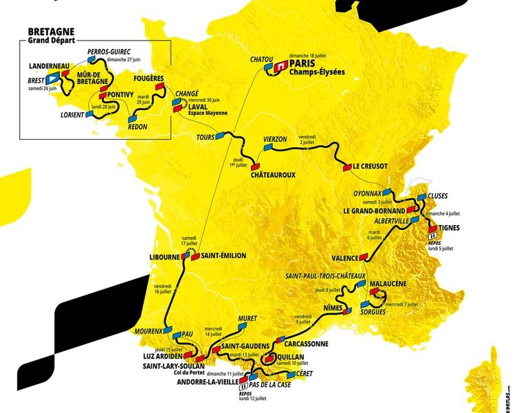 Tour de France 2021 | Guia TopCycling – parte 2 | Perfil das etapas